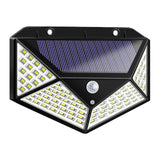100 LED Solar Lamp Energy Saving Waterproof PIR Motion Sensor Outdoor Wall Light Street Yard Path Home Garden Security Light new