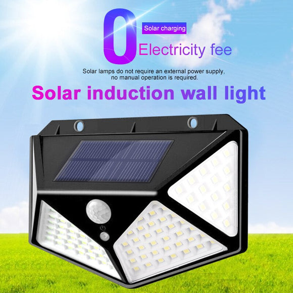 Induction Light Home Security Lamp Walkway Lights Wall Light Eco-Friendly Durable Outdoor Street Lamp Motion Sensor Solar