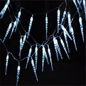 5M 28LED Icicle String Lights Christmas Fairy Lights new year xmas Home For Wedding/Party/Curtain/Garden Decoration