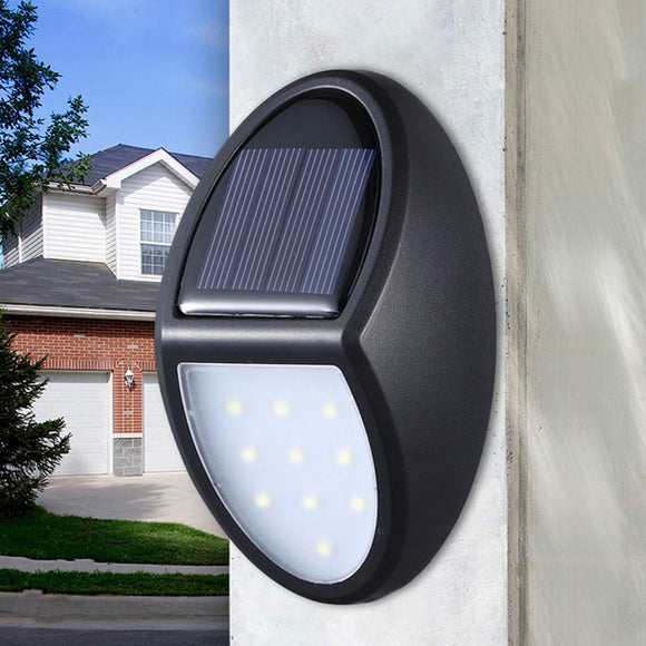 Removeable 10led Solar Power Wall Light Outdoor Indoor Waterproof Energy Saving Street Yard Path Home Garden Security Lamp Hot