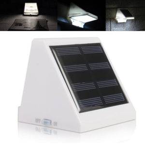 Solar Wall Light Outdoor  Garden  Waterproof Home Light Night Security Wall Light 4LED Hot Sale