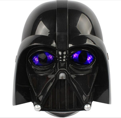 Hot Sale Star Wars Mask LED Light Helmet Halloween and Christmas PV Darth Vader Mask Empire Clone Soldiers Luminous Mask