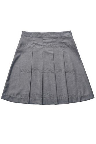 Harry Hogwarts Light Grey Cosplay Skirt Free Shipping for Halloween and Christmas