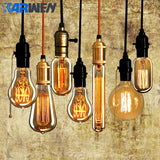 KARWEN vintage Edison bulb E27 lampada retro lamp Incandescent Bulb  40w 220V Edison Light For Pendant Lamp Decoration