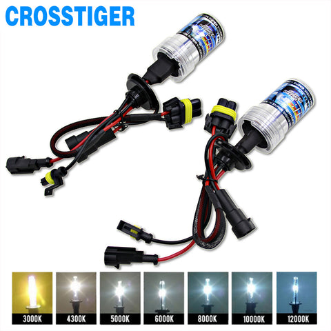 2pcs 12V 55W Xenon H7 HID Conversion Kit H1 H3 H11 9005 Bulb Auto Car Headlight Lamp 3000k 4300k 5000K 6000k 8000K 12000K