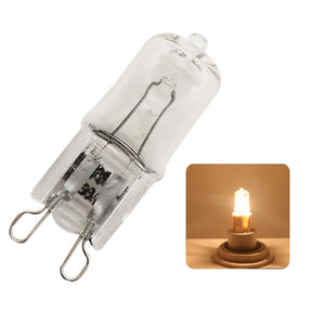1x Super Bright G9 Halogen Light Bulb 25w 40w 60w Halogen G9 220V 3000K Warm White Indoor Clear Halogen G9 Lamp