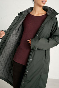 Seasalt Janelle Weatherproof coat in Woodland