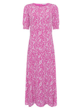 Load image into Gallery viewer, Great Plains Fresh ditsy round neck short sleeve dress in Pink