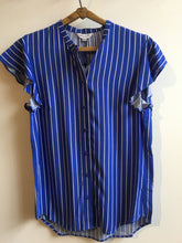 Load image into Gallery viewer, Great plains Salerno stripe shirt in Cornflower and milk - CW CW