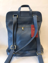 Load image into Gallery viewer, Bagitali Milan large convertible rucksack/handbag in Soft Blue - CW CW