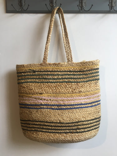 Unmade Silham raffia tote bag in Natural - CW CW