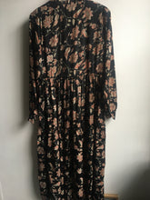 Load image into Gallery viewer, Black Colour Luna Rose boho dress in Lotus Black