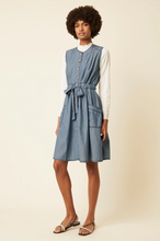 Load image into Gallery viewer, Great Plains Luca sleeveless round neck dress in Denim - CW CW