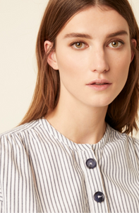 Great Plains Nala striped blouse in Navy/white - CW CW