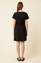 Load image into Gallery viewer, Great Plains Pia ponte jersey dress in Black - CW CW