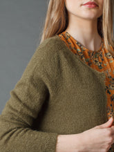 Load image into Gallery viewer, Indi & Cold jacket knit with pocket detail in Olive