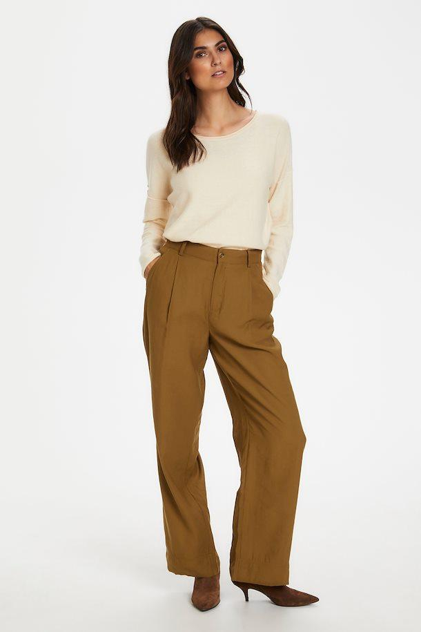 Part Two Belmas classic fit trouser in Butternut - CW CW