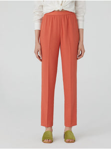 Nice things Elastic waistband trousers in Coral - CW CW