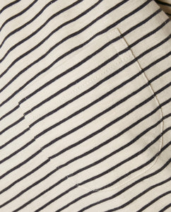 Part Two Kedita stripe print t-shirt in Navy - CW CW