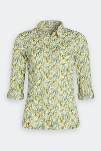 Seasalt Larissa shirt in Spring border dill - CW CW