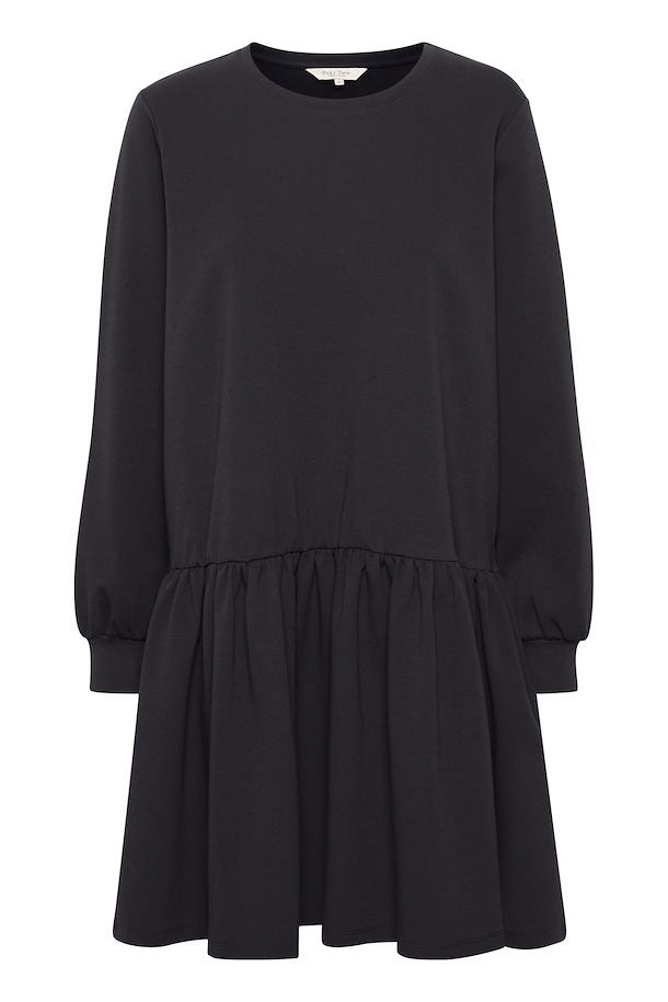 Part Two Elvia jersey sweat shirt dress in Night Sky