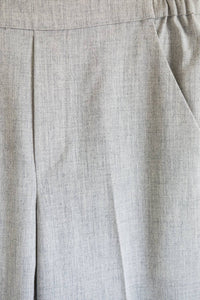 Ese O Ese Jason Winter tailored trouser in Pearl Grey