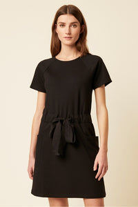 Great Plains Pia ponte jersey dress in Black - CW CW