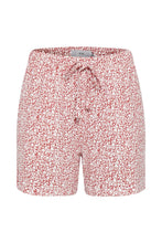 Load image into Gallery viewer, Ichi Casual printed jersey shorts in Baroque rose - CW CW