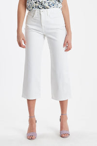Ichi High waist essential jeans in White - CW CW