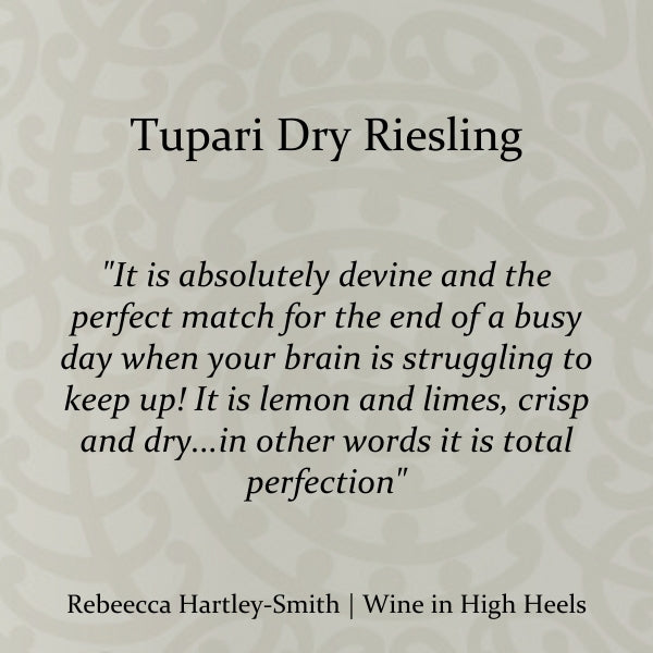Tupari Dry Riesling – 6 bottle case