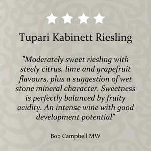 Tupari Kabinett Riesling 2016 – 6 bottle case