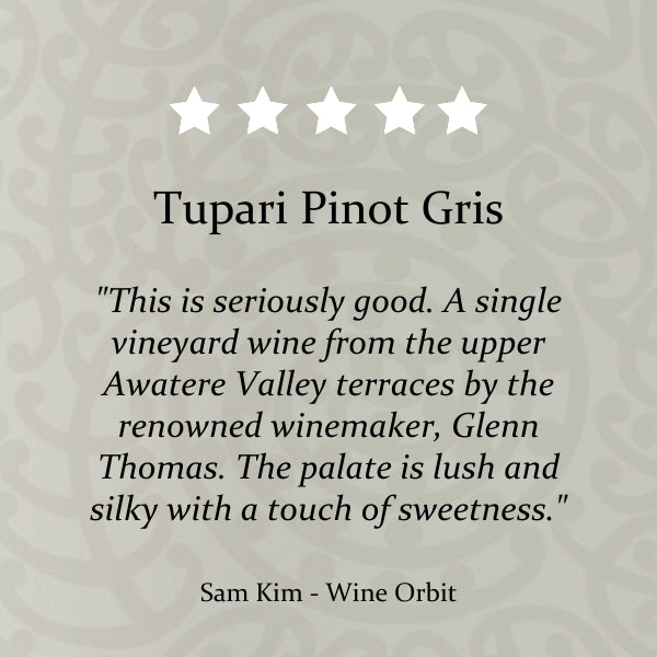 Tupari Pinot Gris 2016  – 6 bottle case