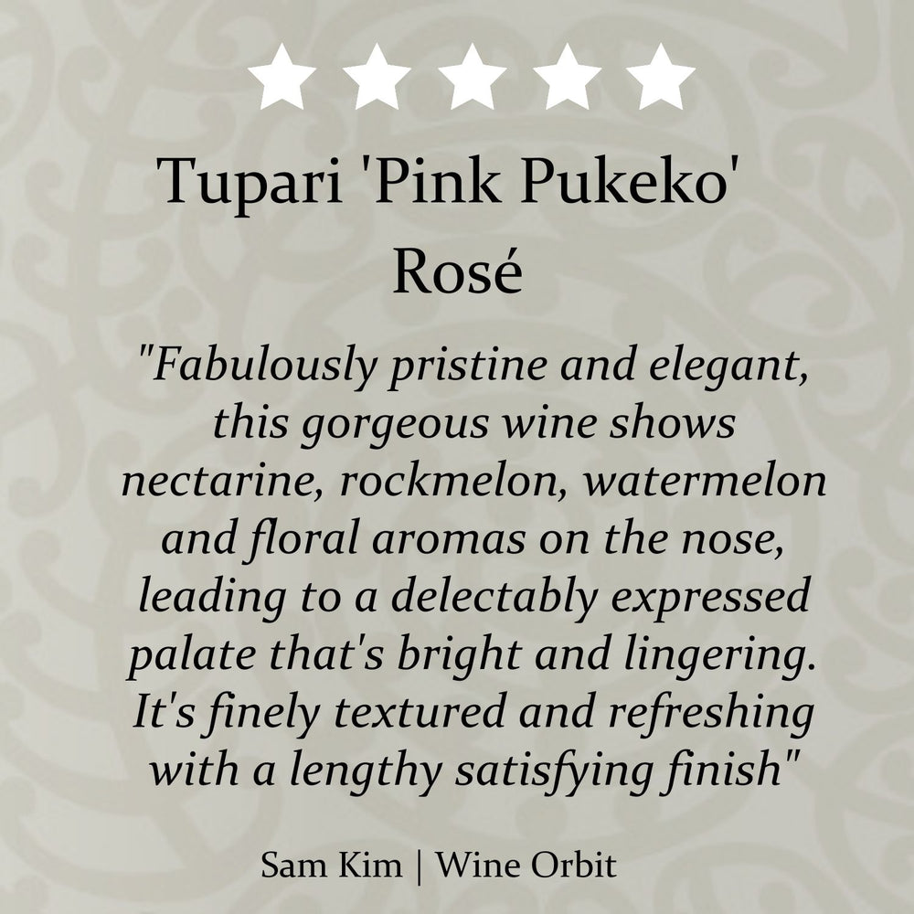 Tupari 'Pink Pukeko' Rosé – 6 bottle case