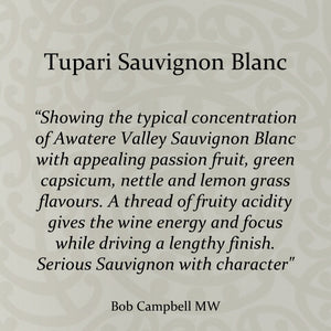 Tupari Sauvignon Blanc 2018 – 6 bottle case