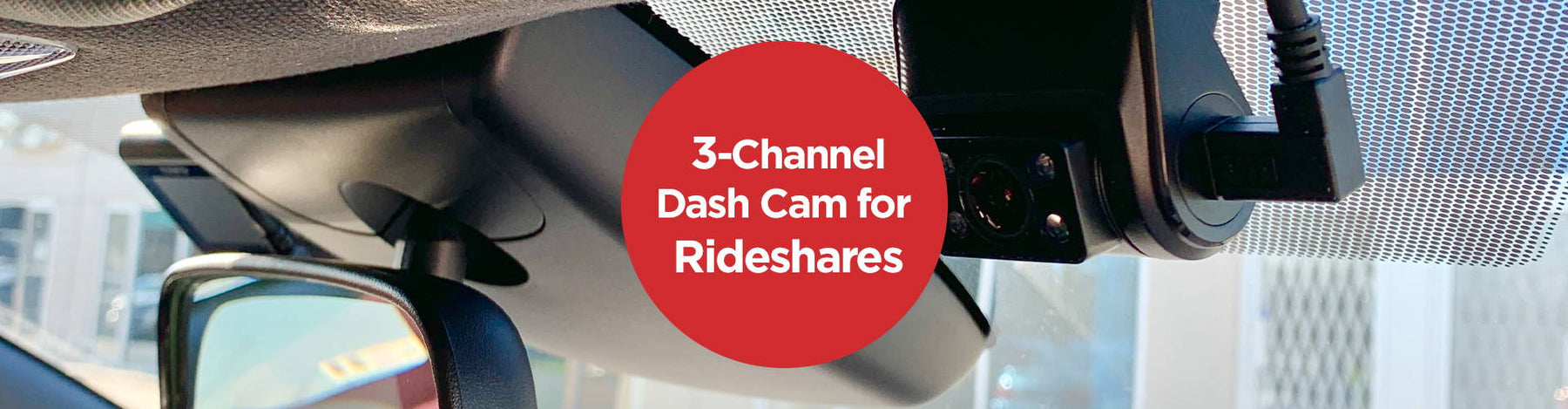 3-Channel Complete Coverage for Rideshares