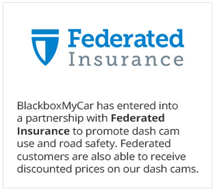 For the first time in North American Insurance history, Federated Insurance Company in Toronto has partnered with BlackboxMyCar.com to promote the use of dash cams to ensure road safety.