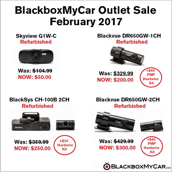 Blackboxmycar february outlet sale 2017