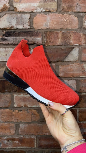 Inspired Sock Trainer - Red