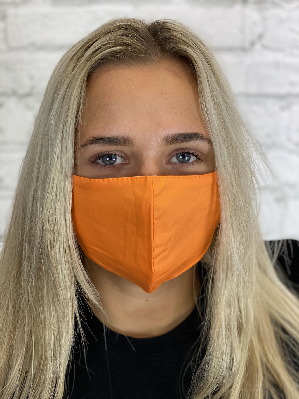 Adult Fashion Face Mask - Orange