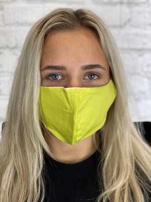Adult Fashion Face Mask - Lime