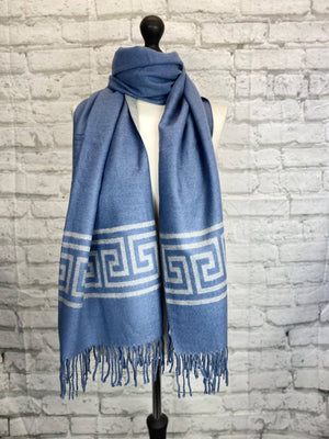 Winter Scarf - Inspired Blue Print