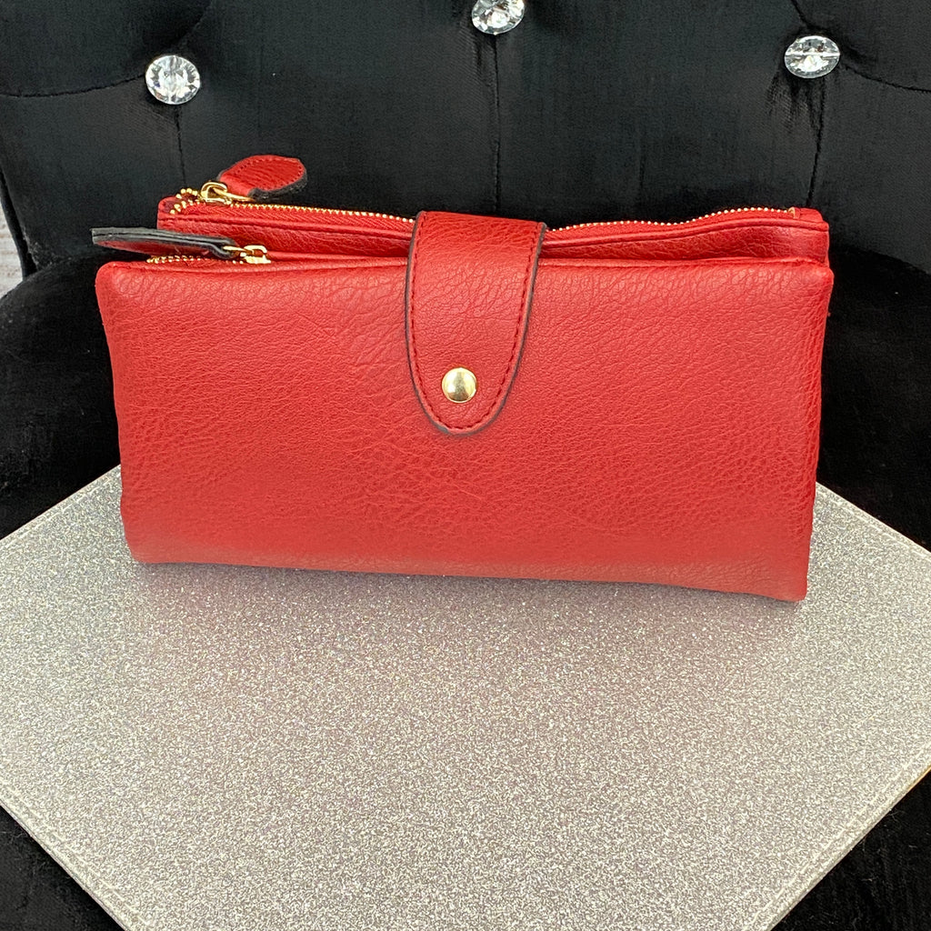 Basics Purse - Red