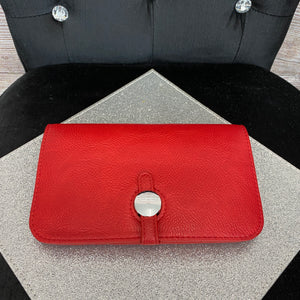 Buckle Purse - Red