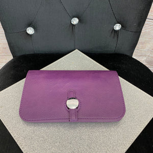 Buckle Purse - Purple