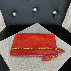 Basics Wristlet Purse - Red