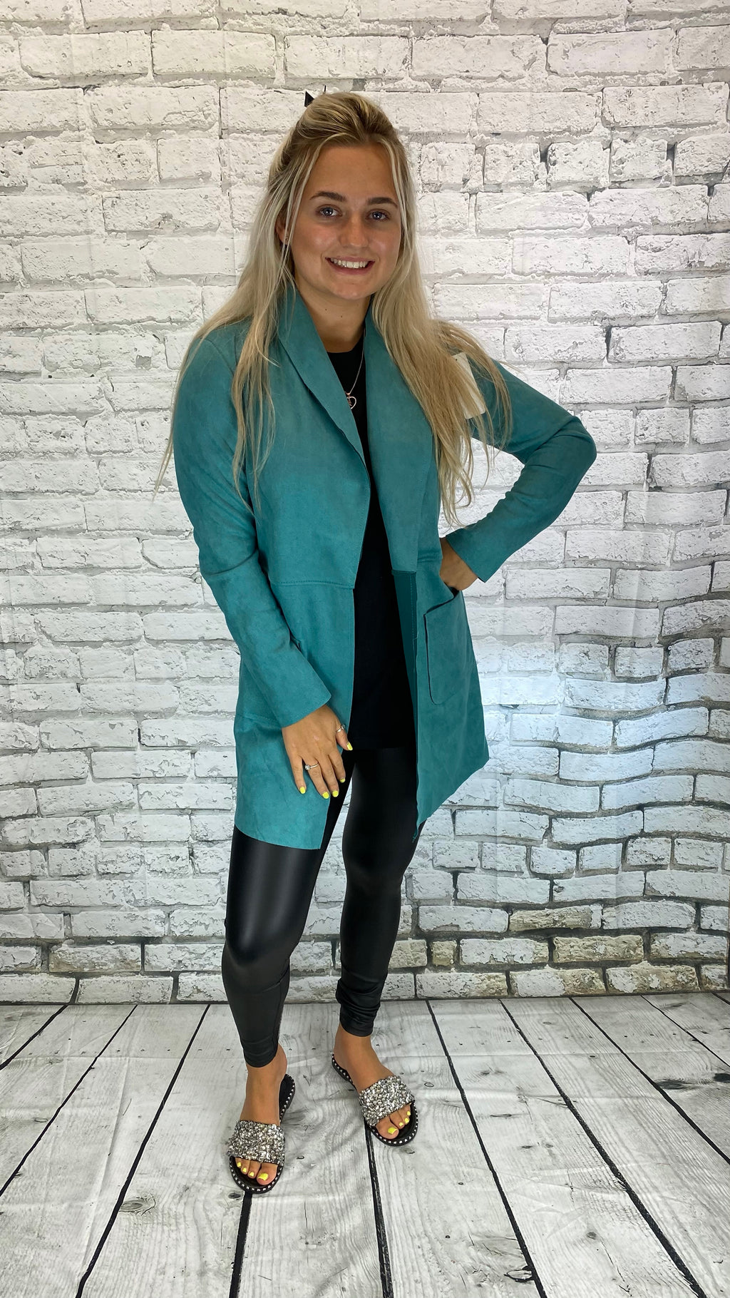 Seude Jacket - Teal