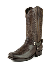 Botas Biker ou Motard Homem 2471 Indian Marron