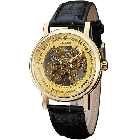 BBC Winner Brand Luxury Golden Men's Mechanical Watches