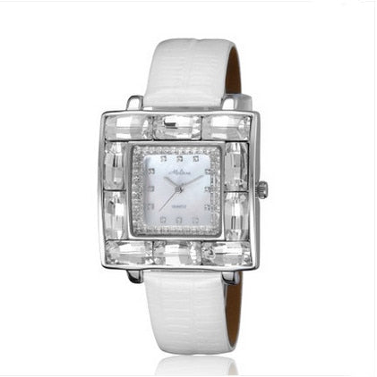 BBC Luxury Big Size Rhinestone Watch HK Brand MELISSA Women Dress Wrist watch