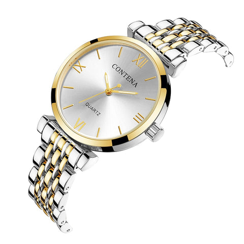 BBC Contena Women Watches Diamond Fashion Gold Silver Watches